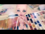 Draculaura OOAK Monster High Custom doll repaint by Prodolls Part1