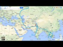 Путешествие по миру на мотоцикле. 2 серия: Иран. Travel the world -  IRAN