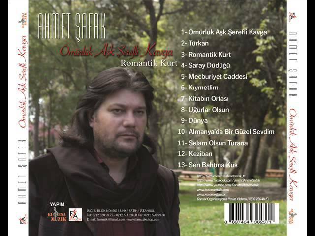 Ahmet Şafak - 2015 Almanyada Bir Güzeli Sevdim (Official Audio Music)
