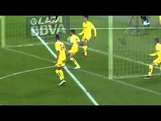 Гол 12'Месси Барселона Спортинг Хихон 1 0