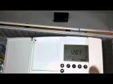 Как перезагрузить электронный регулятор ECL Comfort 200 от Danfoss