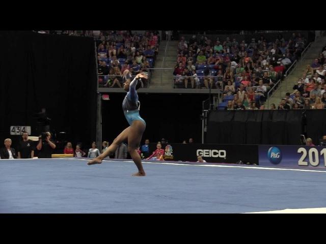 Simone Biles- Floor Exercise - 2016 PG Gymnastics Championships – Sr. Women Day 2