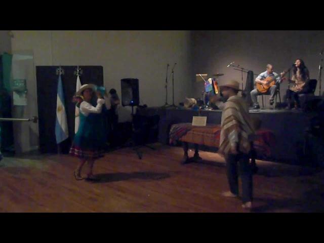 Bailecito coya María y Damián 2012