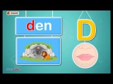 Letter d Sound - Phonics by TurtleDiary