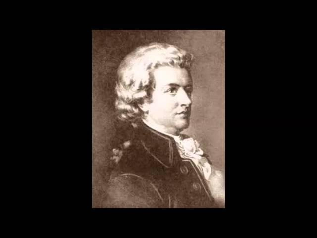 В А Моцарт Соната для скрипки и фортепиано Соль мажор