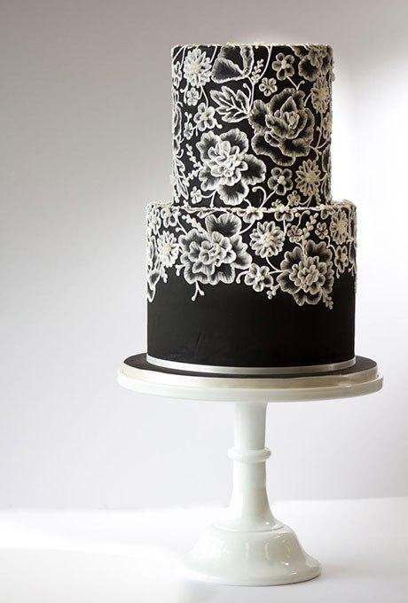 xVem5hz8dqw - 18 Кружевных свадебных тортов