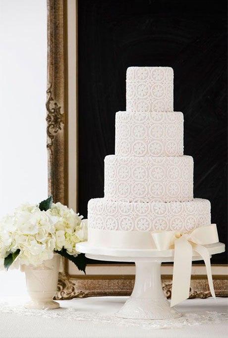 JNKahaLkQdU - 18 Кружевных свадебных тортов