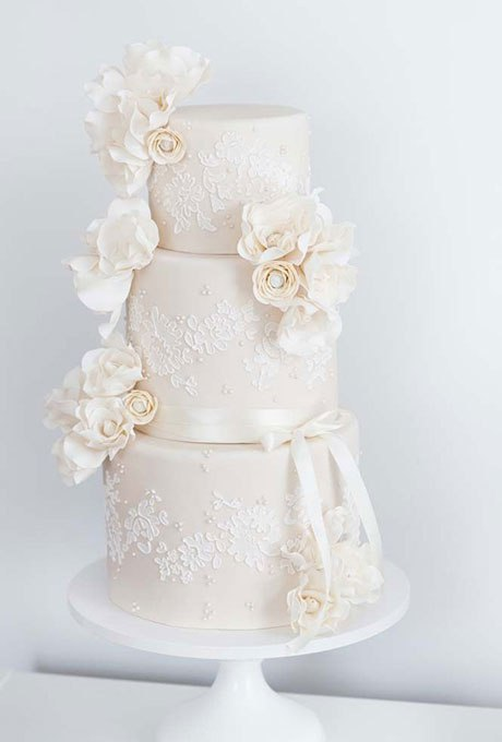 im5rAKWL3fw - 18 Кружевных свадебных тортов