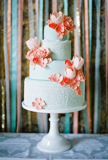 FqumkRozhLY - 18 Кружевных свадебных тортов