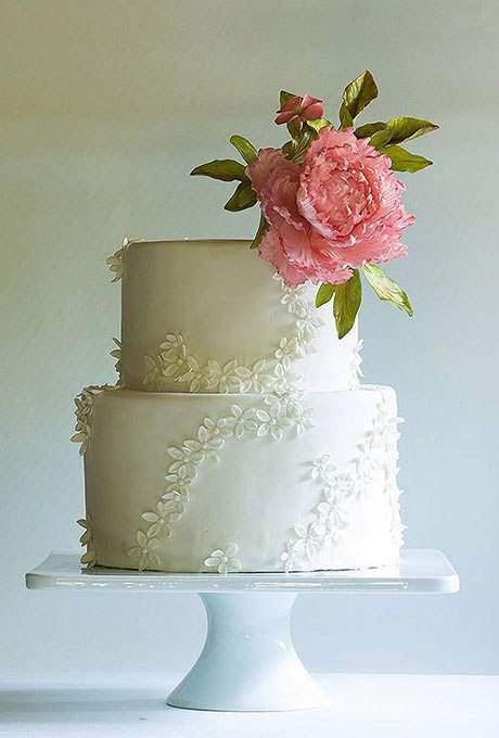 VXngRK10cIg - 18 Кружевных свадебных тортов