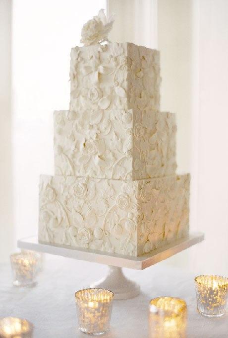 YxjdxQjM8DY - 18 Кружевных свадебных тортов