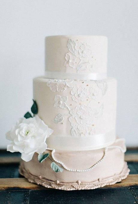 l8n7kOdOO3A - 18 Кружевных свадебных тортов
