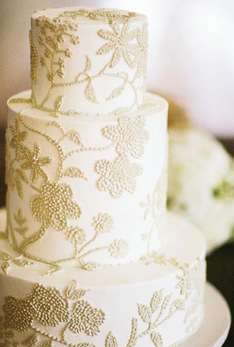 XPOa4J8YioU - 18 Кружевных свадебных тортов