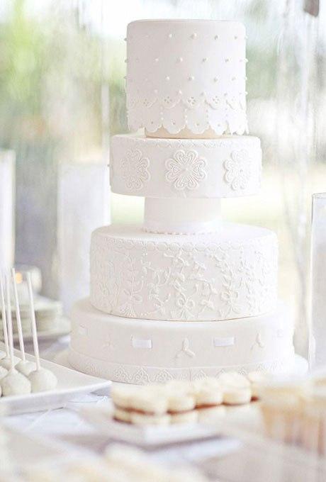 YPD3A538w1w - 18 Кружевных свадебных тортов