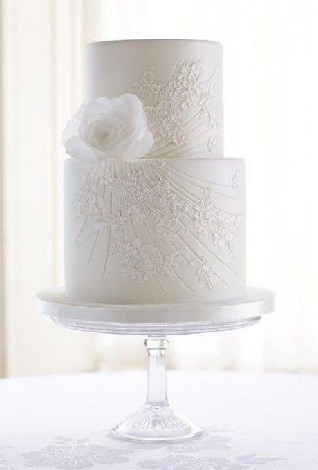 8gH851Bu Ws - 18 Кружевных свадебных тортов