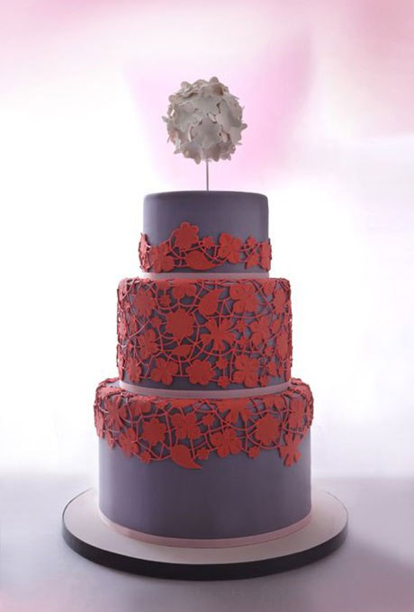 J4jRLingt E - 18 Кружевных свадебных тортов