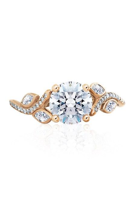 4RPCUmX2fwg - Обручальные кольца из розового золота (27 фото)