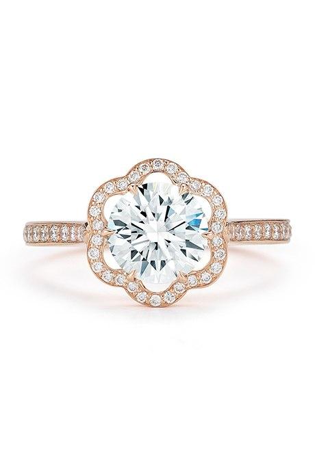 nq2mR42X5uo - Обручальные кольца из розового золота (27 фото)