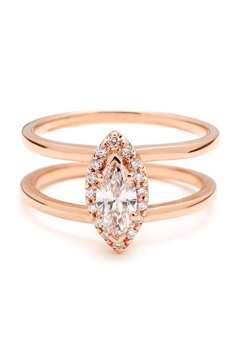 gvWJneigpVY - Обручальные кольца из розового золота (27 фото)