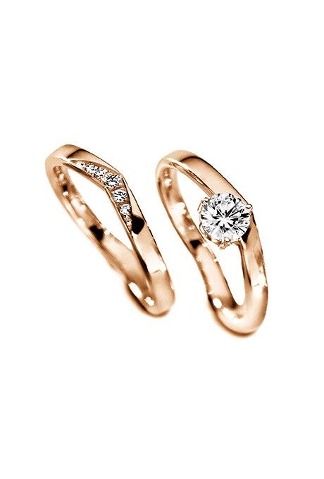 CvAP3wVu9vg - Обручальные кольца из розового золота (27 фото)