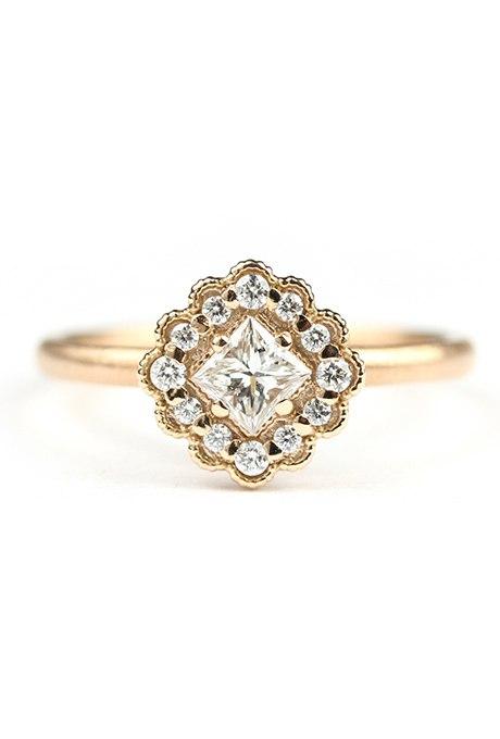 MW62NJ 3hhU - Обручальные кольца из розового золота (27 фото)