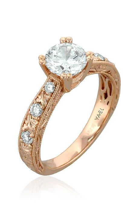 h9sWmsody1k - Обручальные кольца из розового золота (27 фото)