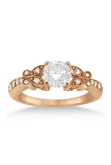 HlU2lJDwK2E - Обручальные кольца из розового золота (27 фото)