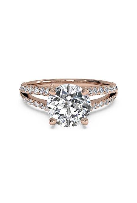 CXyVbj3kevI - Обручальные кольца из розового золота (27 фото)
