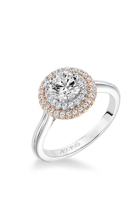 g6k9nqaFp9k - Обручальные кольца из розового золота (27 фото)