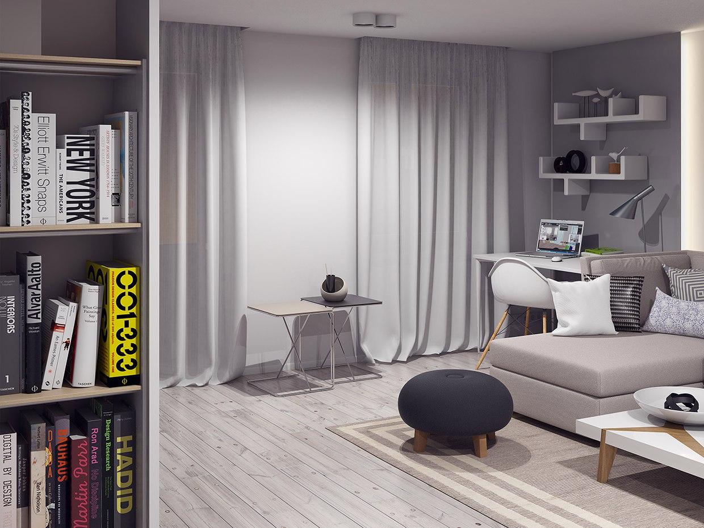 Проект квартиры 33 м.
