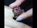 «Живые» кольца URANTI На ваших глазах происходит таинство золотой бутон кольца LILY медленно распускается, открывая безупречн
