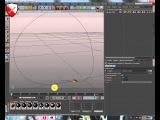 Cinema 4d - Урок -8 Анимация движения по сплайну