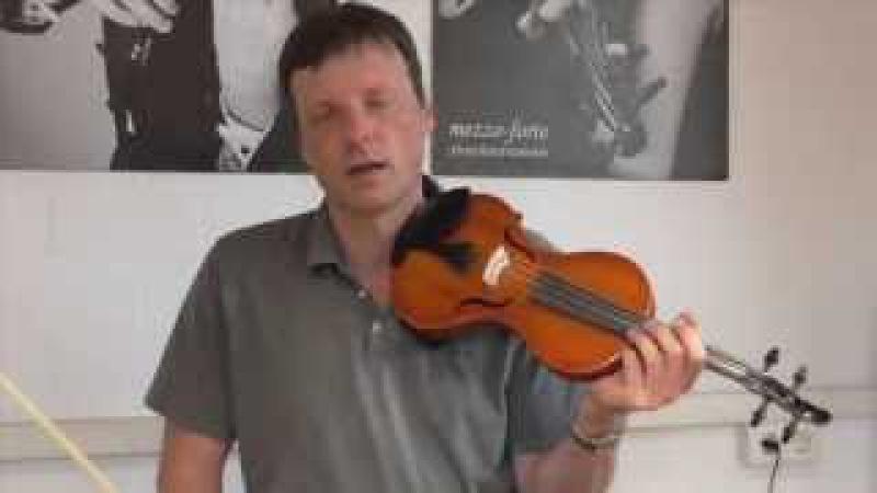 Violine / Geige lernen - Geigenspiel verbessern - Tutorial Teil 5: Lagenspiel - Einführung 3. Lage