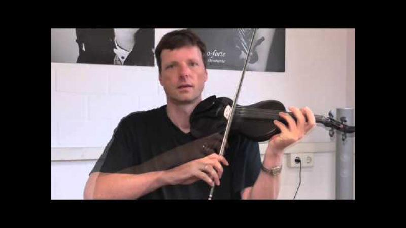 Violine / Geige lernen - Geigenspiel verbessern - Tutorial Teil 6: Bogentechnik-Staccato-Martelé