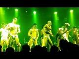 Dancing male model show fashion underwear men