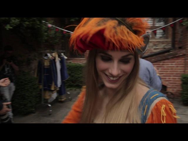 Три дня в Туссенте - презентация Ведьмак 3: Дикая Охота - КРОВЬ И ВИНО в Турине, Италия (Witcher 3 )