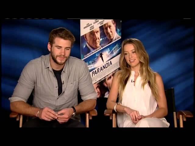 RAW Liam Hemsworth Teases Co-star Amber Heard about ZBB