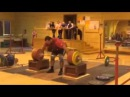 Lovchev Aleksey 220 kg World Record in Snatch Алексей Ловчев Рывок 220 кг Мировой рекорд
