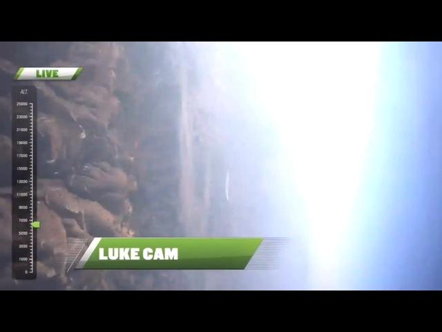 Люк Эйкинс Luke Aikins прыгнул с высоты 7 6 км и приземлился без парашюта