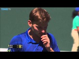 Goffin Hits Hot Shot In Indian Wells 2016