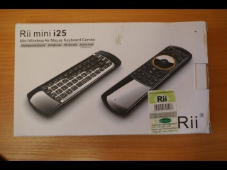 Обзор Rii mini i25 аэро мышь + клавиатура + пульт