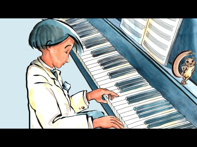The Little Pianist: Learn Spanish with subtitles - Story for Children