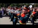 Парад участников фестиваля Спасская башня 27.08.2016 Москва, ВДНХ.