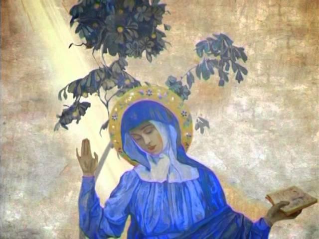 Благовещение Пресвятой Девы Марии Закон Божий Телеканал Радость моя