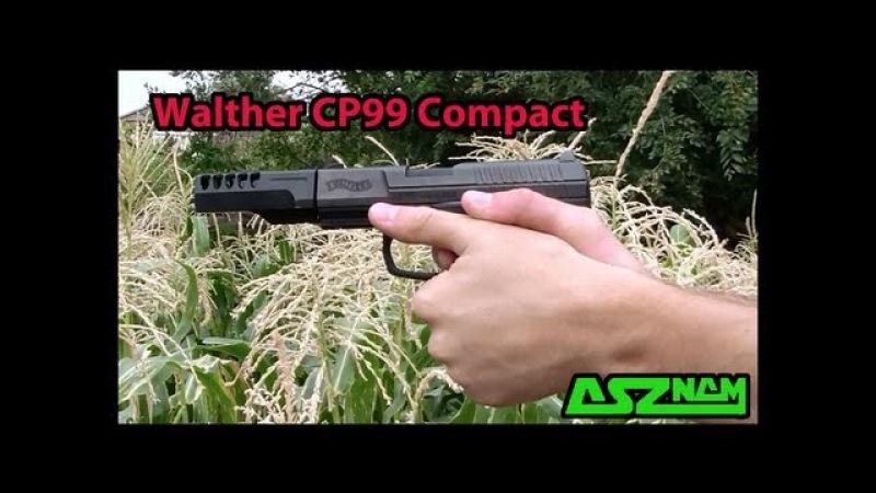 Обзор пневматического пистолета Walther CP99 Compact
