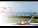Упражнения для верхней части пресса. Top Ab Exercises | Rebecca Louise