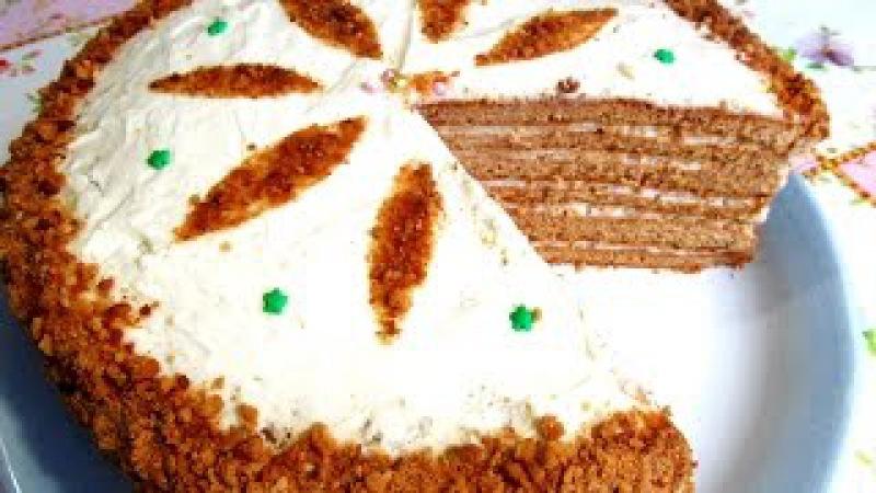 Вкусно Торт МЕДОВИК Старинный Рецепт Медового Торта Рецепты ТОРТОВ смотреть онлайн без регистрации