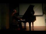 Concerto di Fabrizio Paterlini a Mosca il 30 maggio 2015
