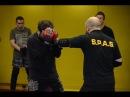 Агрессивная защита и атака локтями предплечьями в S P A S street fighting S P A S
