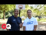 Can Stephen Curry Beat Dad Dell in a Game of H-O-R-S-E GQ